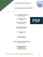Pdm de Desarrollo Territorial de San-cayetano-2012-2015