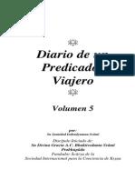 Diario de Un Predicador Viajero v5