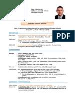 CV Sylvain Gaimard