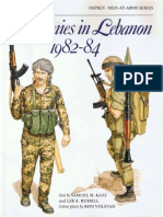 Osprey, Men-At-Arms #165 Armies in Lebanon 1982-84 (1985) OCR 8.12