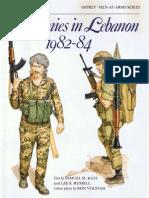 Osprey, Men-At-Arms #165 Armies in Lebanon 1982-84 (1985) OCR 8.12