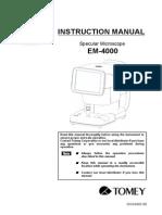 Manual EM 4000