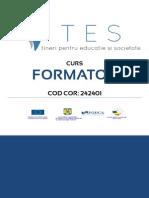 Manual Formator TES PODCA Reviziuit