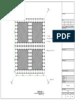 3. Gambar Desain KJA (3x3)m - 4 Lubang Jarak 1m