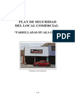 Plan de Seguridad Negocio Local