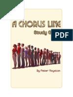 Chorus Line Study Guide