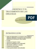 El Diagnostico y El Tratamiento de Las Dislexias