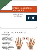 Kinetoterapie În Poliatrita Reumatoidă