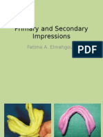 Primary and Secondary Impressions