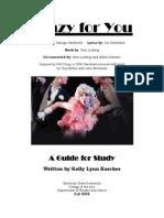 Crazy for You (Montclair) Study Guide