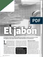 Lectura - El Jabón - Informe Descriptivo