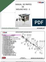 Lista de Partes Molino M32