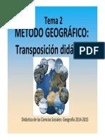 Tema 2 POWERPOINT_ Método Geográfico