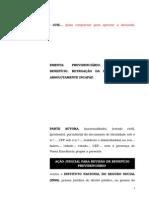 1.38- Pet. Inicial - Pensão Por Morte Retroação Da DIB - Inocorrência Da Prescrição Contra Absolutamente Incapaz