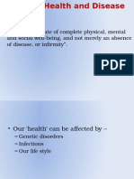 health diseases and impact