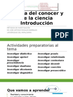 0-Introduccion-Acerca Del Conocer y de La Ciencia