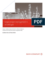 BAIN BRIEF Large Project Management in Oil and Gas