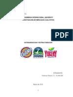 Categorizacion y Estructuracion