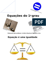 Aula Sobre Equações Do 1º Grau
