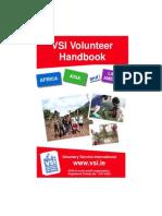 Vsi Volunteer Handbook for Ns Programmes