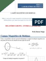 Campo Magnetico Bobinas
