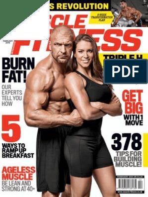 Muscle Fitness Uk February 2015 Neck Strength Training