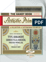 Handy Book of Artistic Printing _ a Collection of Letteinter's Devils, And Other Freaks of Fancy - Doug Clouse