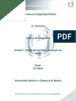 Unidad 1. Origen de Legalidad y Concepto de Cultura