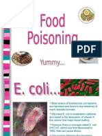 A-level Food Poisoning