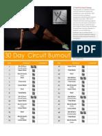 30 Day Circuit Burnout