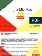 Matriz Mic Mac