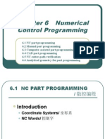 Numerical Control Programming