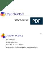 BRM - Factor Analysis