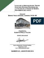 MEMORIA DE CALCULO ESTRUCTURAL DE EDIFICIO DE ALBERTO PINILLA