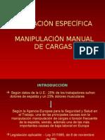 30 Manipulación Manual de Cargas