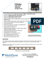 HD3000 Fiber Optic Transport Link | Fiber Routing Switcher | MultiDyne