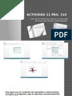 Actividad 11 Creacion de Macros Pag110
