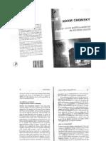 Chomsky, Noam. El Terror Como Política Exterior de Los EUA