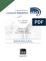 Extracto Manual ABAS-II