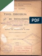 Teste individual de inteligência 01