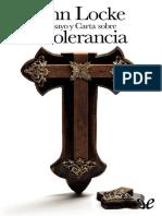 Locke (Filosofo), John - Ensayo y Carta Sobre La Tolerancia [8095] (r1.0)