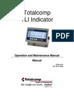 Manual Weighing Indicator