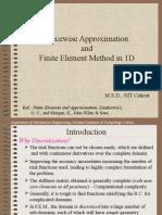 CH05 Finite Element Method-1D