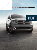 2015 Dodge Durango Brochure