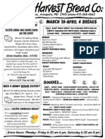 Easter Menu March 2015