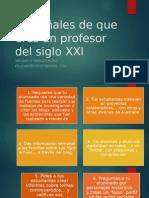 21 Señales de Que Eres Un Profesor Del