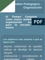 Modelo Pedagógico - Organización Presentación