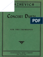 Blazhevich Concert Duets