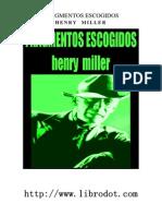Miller Henry - Fragmentos Escogidos