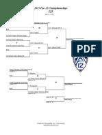 Pac 12 Finals